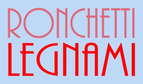 RONCHETTI LEGNAMI - AB BONNER - SFONDO AZZURRO -